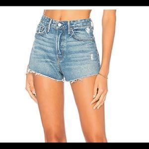 Revolves GRLFRND denim shorts